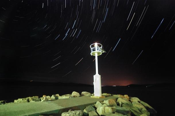 Noćna fotografija - tragovi zvijezda
