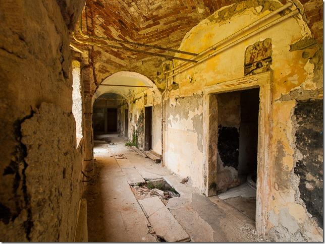 Unutrašnjost dvorca