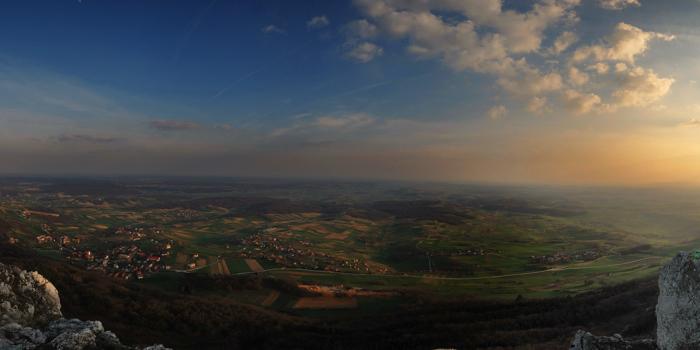 Pogled u dolinu