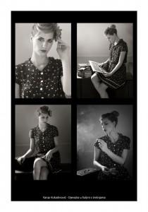 Vanja Vukadinović - Djevojka u haljini s trešnjama